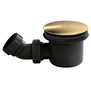 Black & Brass Fast Flow Shower Waste