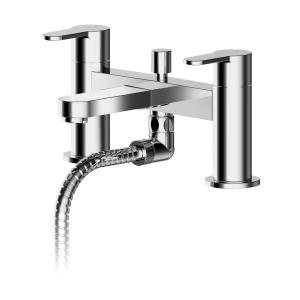 Arvan Deck Mounted Bath Shower Mixer With Kit