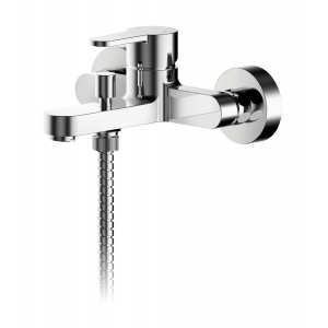 Arvan Wall Mounted Bath Shower Mixer With Kit