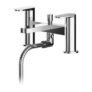 Binsey Deck Mounted Bath Shower Mixer With Kit
