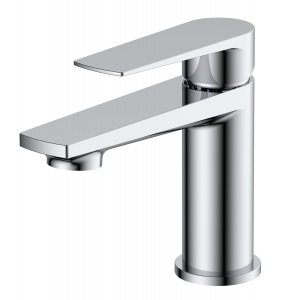 Bailey Mono Basin Mixer Tap with Push Button Waste Single Handle