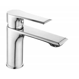 Limit Mono Basin Mixer Tap with Push Button Waste Single Handle