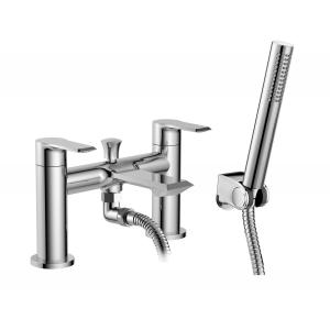 Limit Bath Shower Mixer Tap Deck Mounted Dual Handle