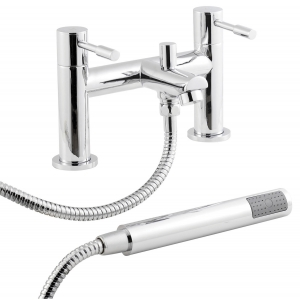 Series 2 Bath Shower Mixer Tap Deck Mounted