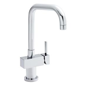 Soft Square Kitchen Sink Mixer Tap Single Handle