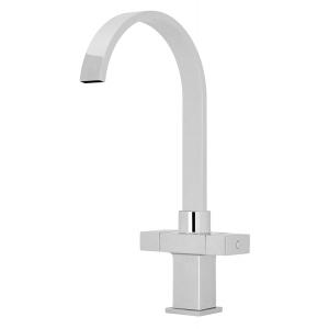 Kitchen Sink Mixer Tap Dual Square Handle