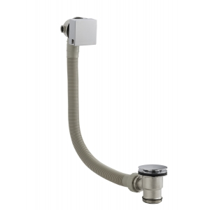 Square Freeflow Bath Filler Waste and Overflow
