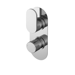 Binsey Twin Thermostatic Shower Valve With Diverter