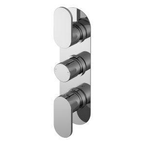 Binsey Triple Thermostatic Shower Valve With Diverter