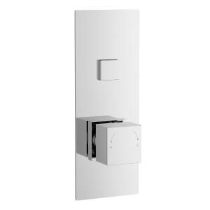 Square Push Button Valve - One Outlet