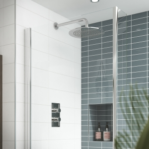 Quest Rectangular Concealed Shower Valve Dual Handle