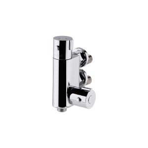 Vertical Thermostatic Bar Shower Valve Bottom Outlet