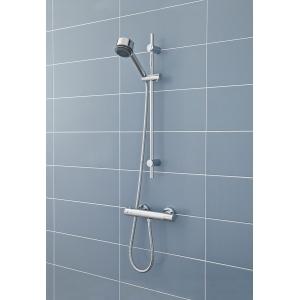 Minimalist Thermostatic Bar Shower Valve Bottom Outlet