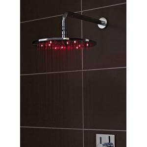 Chrome 300mm LED Square Fixed Shower Head