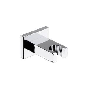 Chrome Square Wall Bracket For Shower Handsets
