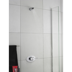 Chrome Concealed Anti-Vandal Fixed Shower Head