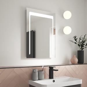 """Carina"" 500mm(w) x 700mm(h) LED Touch Sensor Mirror"