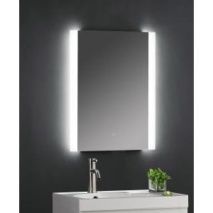 """Castor"" 500mm(w) x 700mm (Reversible) Ambient Lit LED Touch Sensor Mirror"