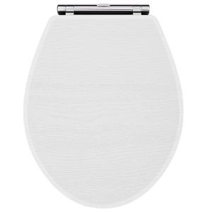 York White Ash Toilet Seat