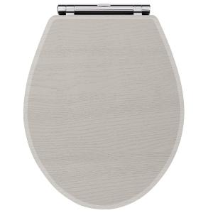 York Stone Grey Toilet Seat