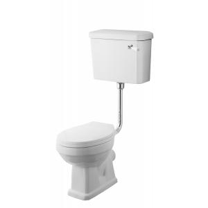 Carlton Low Level Pan, Cistern and Flush Pipe Kit