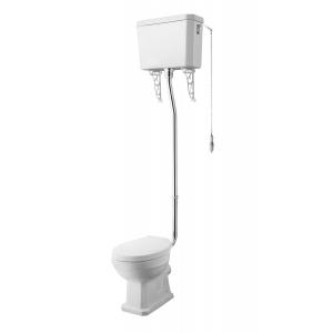 Carlton High Level Pan, Cistern and Flush Pipe Kit