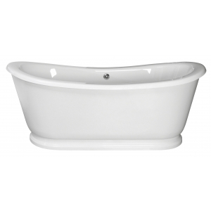 """""""Greenwich"""" 1740mm(L) x 800mm(W) Traditional Freestanding Double Ended Roll Top Bath (Includes Plinth)"""