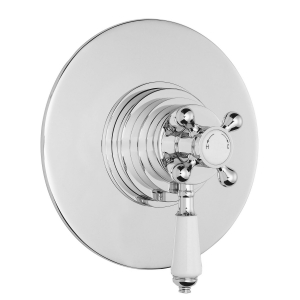 Victorian Dual Thermostatic Shower Valve
