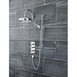 Chrome 300mm Fixed Shower Head