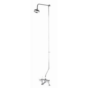 Traditional Rigid Riser Kit For Bath Shower Mixer