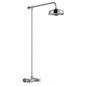 Traditional Thermostatic Shower Valve and Rigid Riser Kit