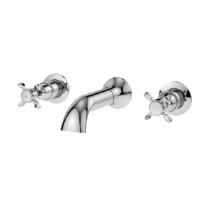 Selby 3 Tap Hole Wall Bath Filler