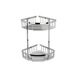 Large 2 Tier Corner Shower Basket