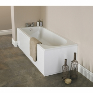 """""""Barmby"""" Round Single Ended Luxury Rectangular Baths - 1500mm To 1800mm(L) x 700mm To 800mm(W)"""