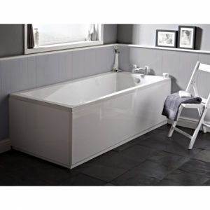 """""""Linton"""" Square Single Ended Luxury Rectangular Baths - 1400mm To 1800mm(L) x 700mm To 800mm(W)"""