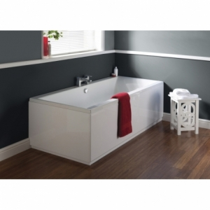 """""""Asselby"""" Square Double Ended Luxury Rectangular Baths - 1700mm To 1800mm(L) x 700mm To 800mm(W)"""