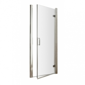 Pacific 6mm Hinged Shower Door with Round Handles