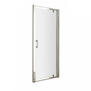 Pacific 6mm Pivot Shower Door with Square Handles