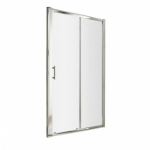 Pacific Single Sliding Shower Door with Square Handle