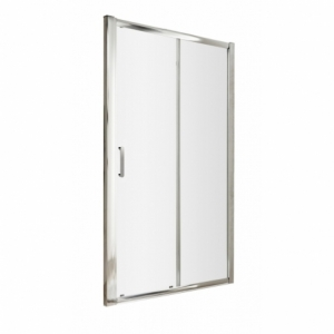 Pacific Single Sliding Shower Door with Round Handle
