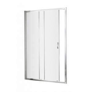 Ella 5mm Single Sliding Shower Door with Curved Handles