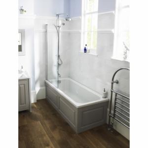 """Ascott"" Art Deco Single Ended Traditional Bath 1700mm(L) x 700mm or 750mm(W)"