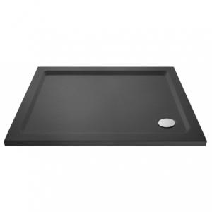 Slate Grey Rectangular Shower Tray 900mm x 700mm