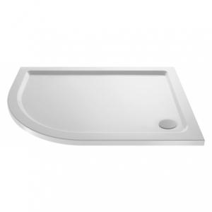 Offset Quadrant Shower Tray Left Handed 900mm x 760mm