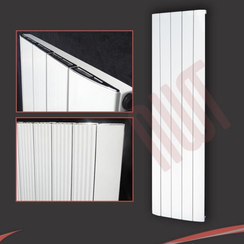412mm (w) x 1800mm (h) Vesuvius White (Aluminium)