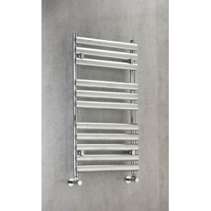 500mm (w) x 1100mm (h) Ellipse Chrome Towel Rail