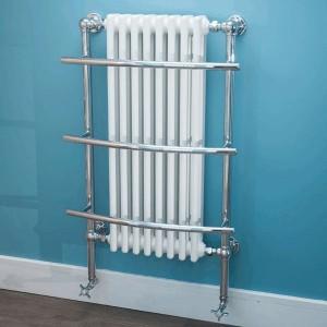 635mm (w) x 1000mm (h) Tranmere Traditional Towel Rail