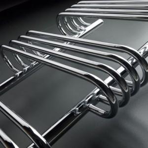 500mm (w) x 900mm (h) Neath Chrome Towel Rail