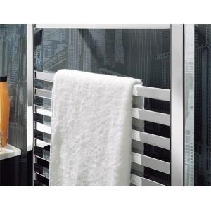 500mm (w) x 1165mm (h) Single Heat Denbigh Chrome Towel Rail