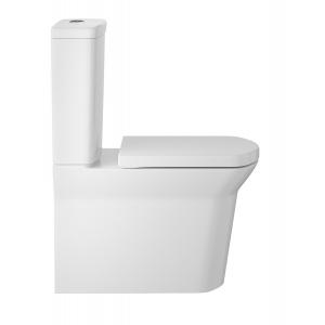 Maya Flush to Wall Toilet and Seat